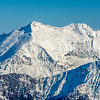 Mount Edward and Mount Maoriri. Cascade Saddle in the foreground