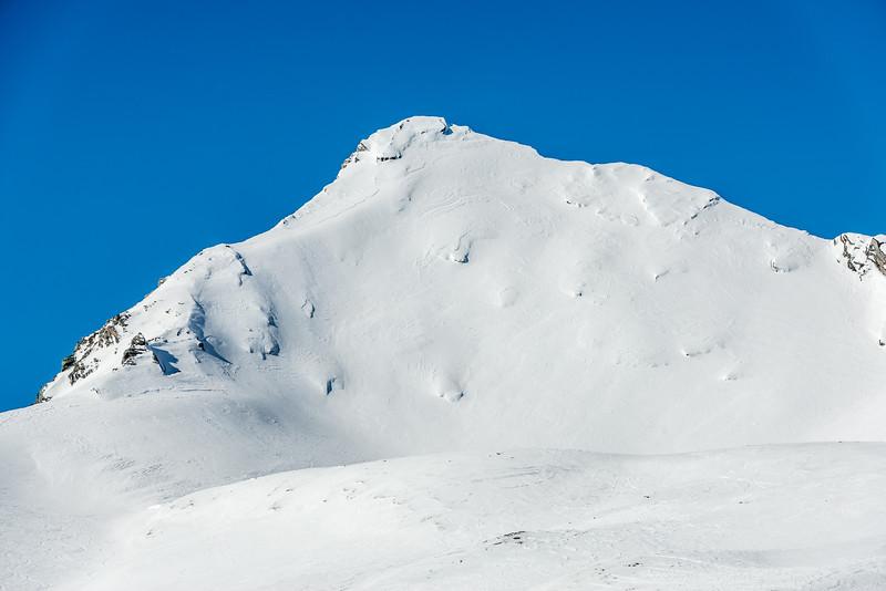 Fog Peak, summit pyramid
