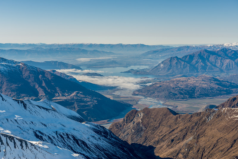 Lake Wanaka from Fog Peak