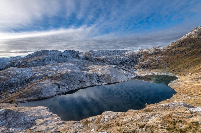 Lake Greaney from Mount Heveldt.