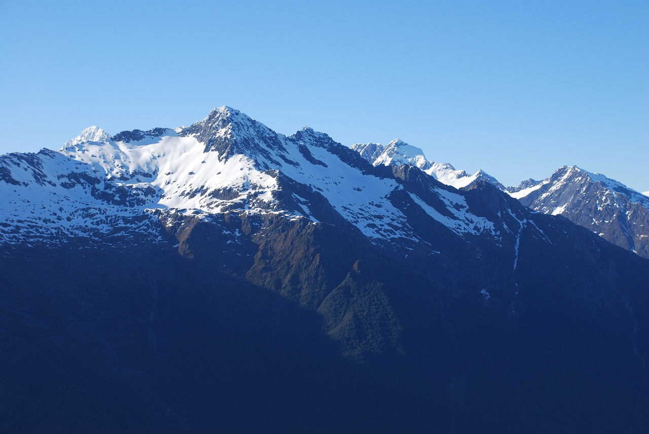 Mt Castor, Rosy Peak and Munro Peak