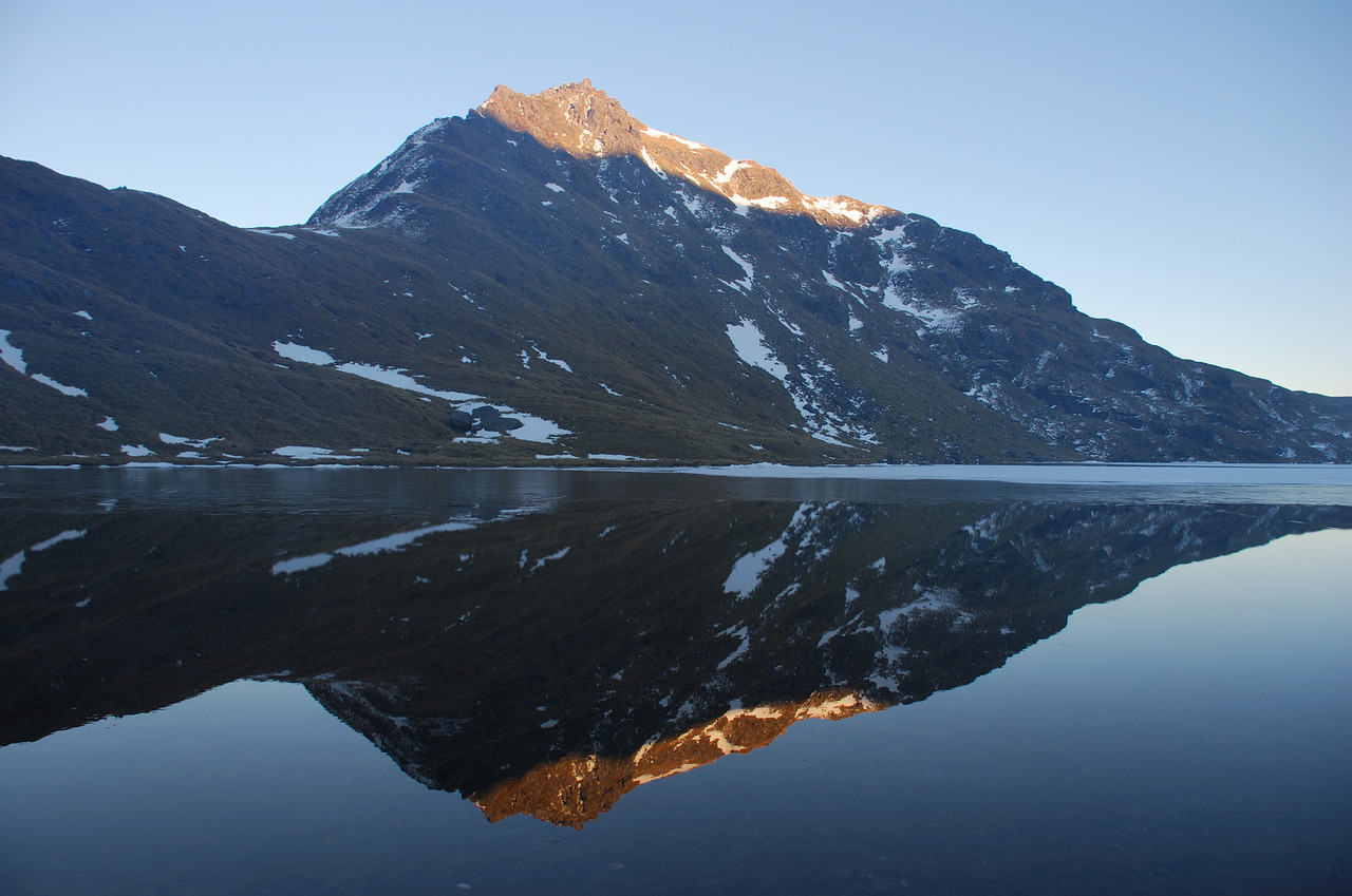 Lake Greaney and Mt Heveldt - 1