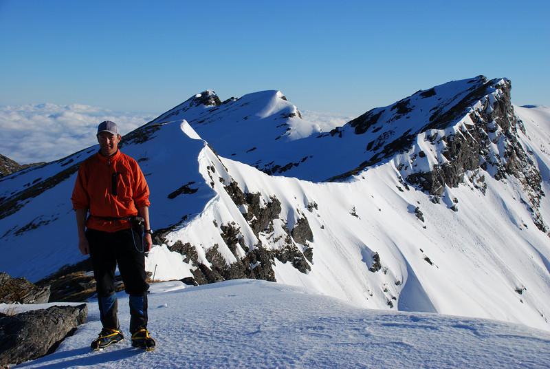 Unnamed peak 1468m, Haast Range