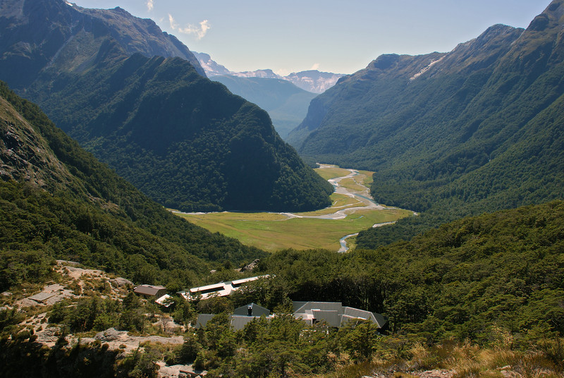 Routeburn Falls village