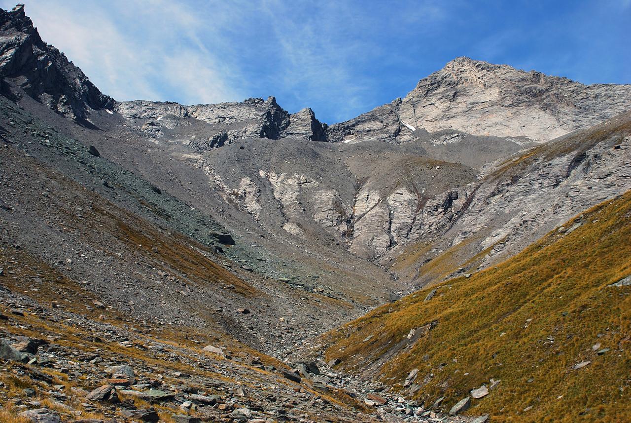 East Centaur Peak, at the head of Little Devil Creek