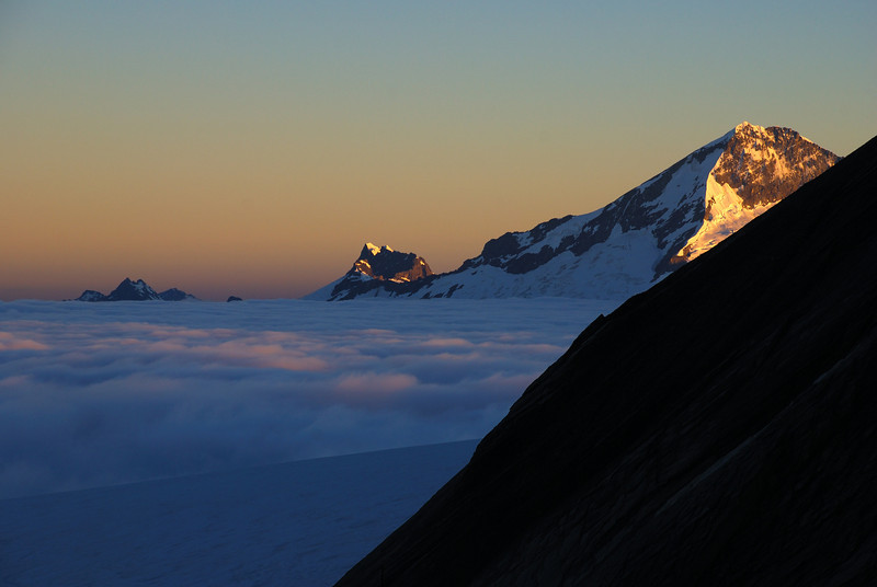 Sunrise on Mt Aspiring