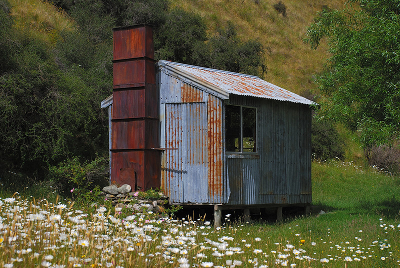 Hundred Mile Hut, Shotover River