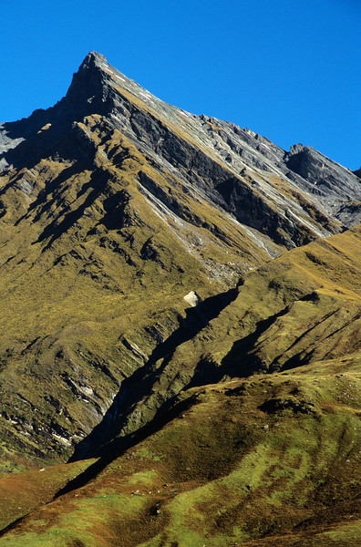 Sharks Tooth Peak, West Matukituki Valley