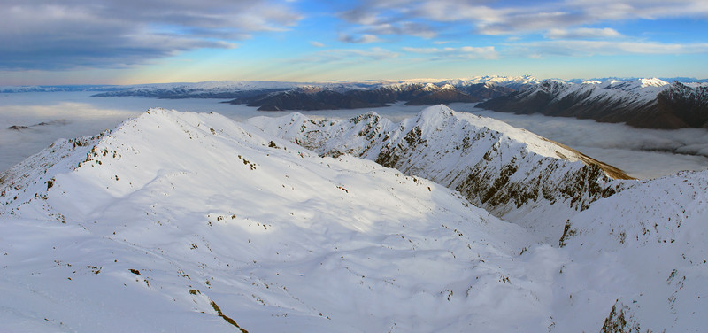 Looking south from Mount Alta