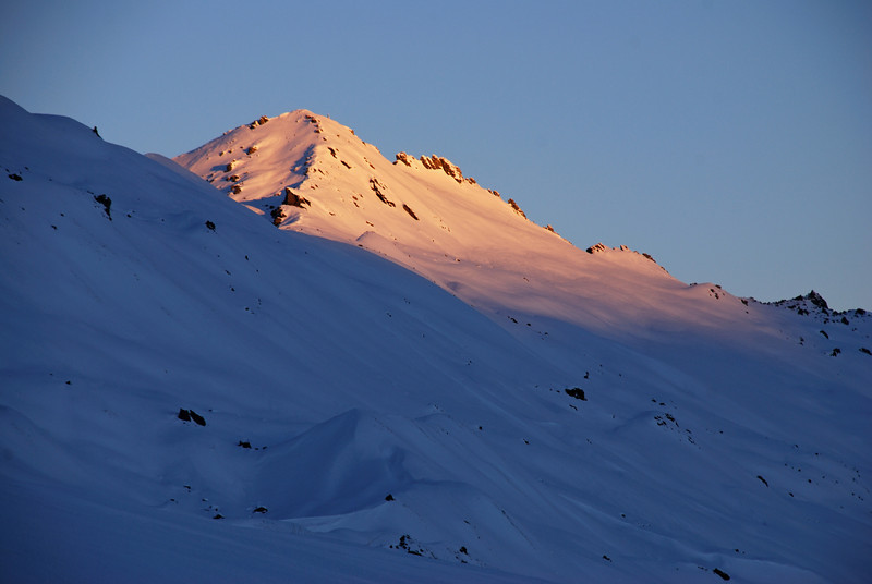West Buchanan Peak at sunset