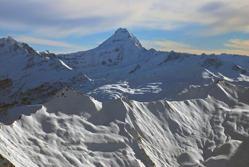 Mount Aspiring from Mount Alta