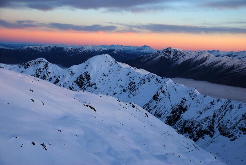 Looking south over the Buchanan Peaks