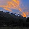 Islington Dome at dusk, West Matukituki Valley