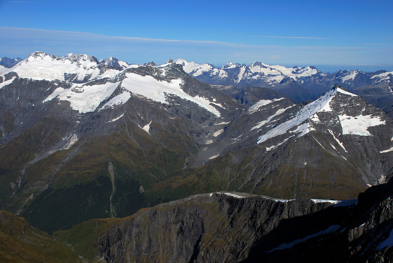 Looking west from Mt Avalanche