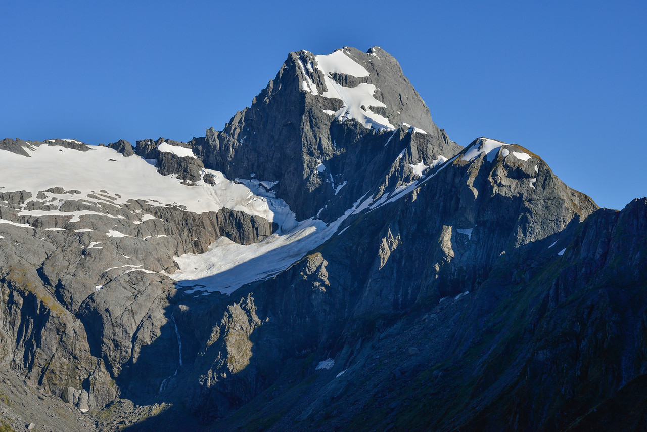 The south face of Mt Awful from Gillespie Stream