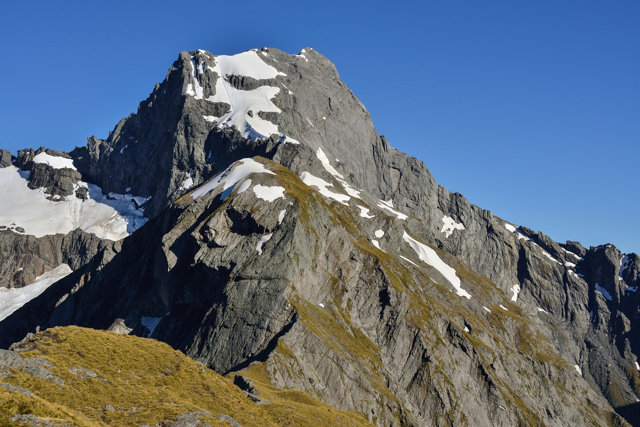 Mount Awful (2192m) from Gillespie Pass