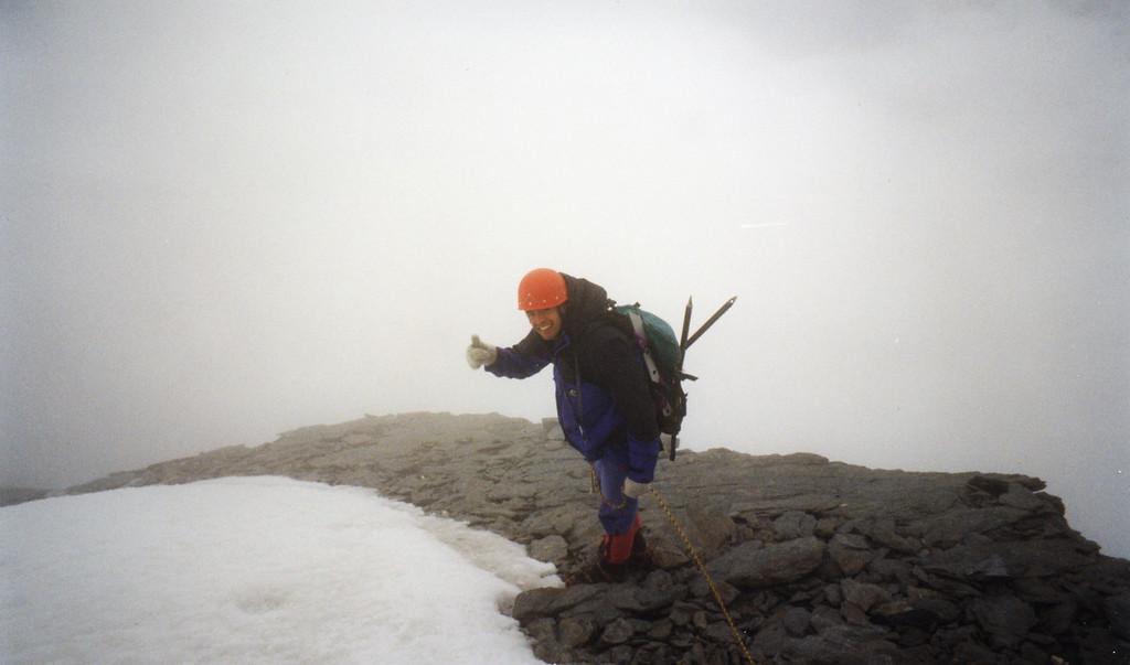 Near the summit. Photo Jeff Chichester