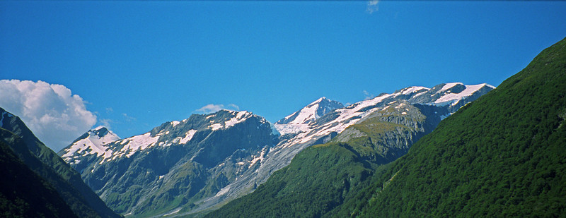 Mt Bevan, Mt Joffre, Mt Aspiring, Mt French
