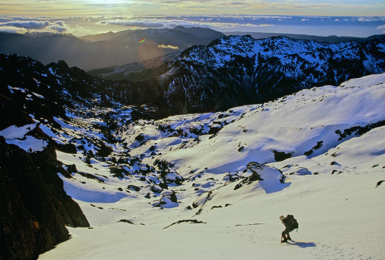Descent off Staircase Mountain