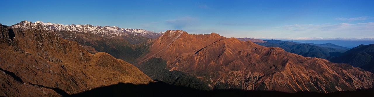 Joe Peak, Mt Richards and Riddle Peak