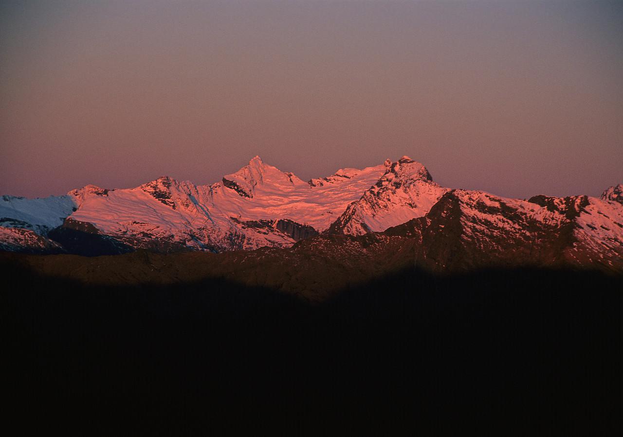 Mt Pollux, Mt Castor and Munro Peak