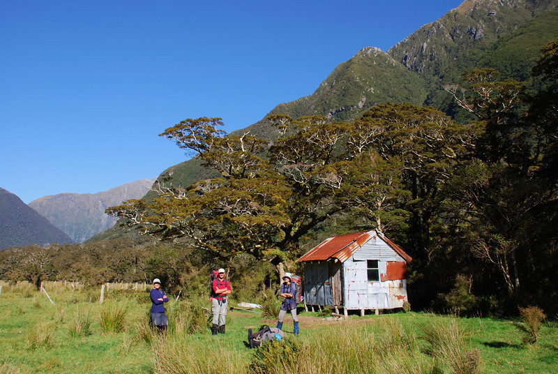 Turnbull River hut aka dump-hole