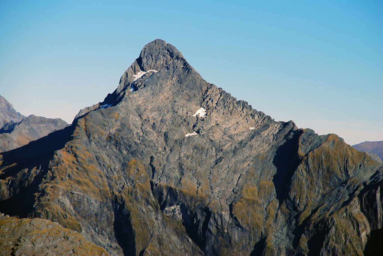 View of Mt Awful from the summit of Mt Franklin, Browning Range