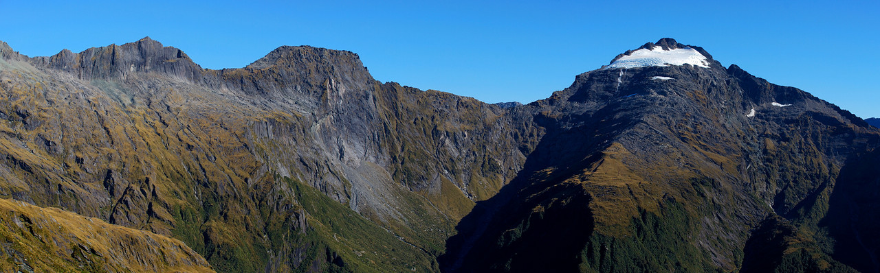 Mt Ruera and Souter Peak from the Browning Range
