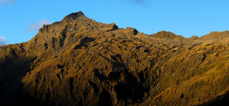 Early morning light on Mt Franklin, Browning Range