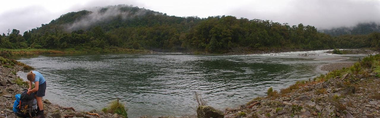 The Boil Hole, Okuru River