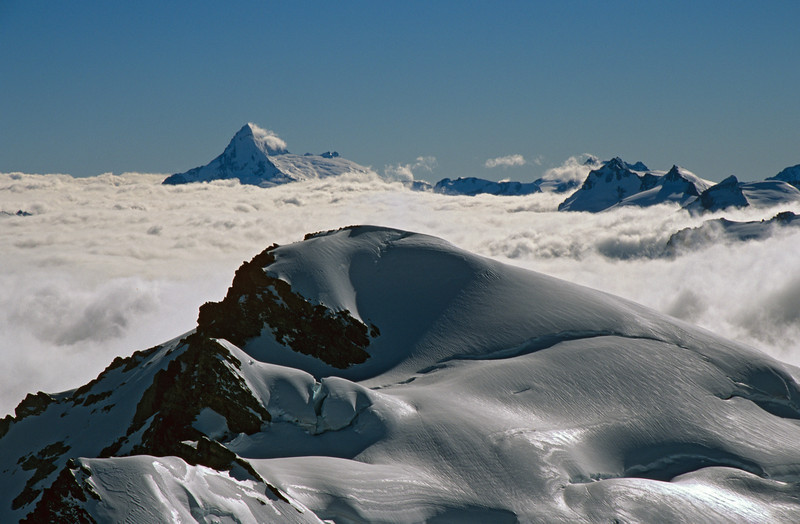 Destiny Peak and Mt Aspiring from Climax Peak