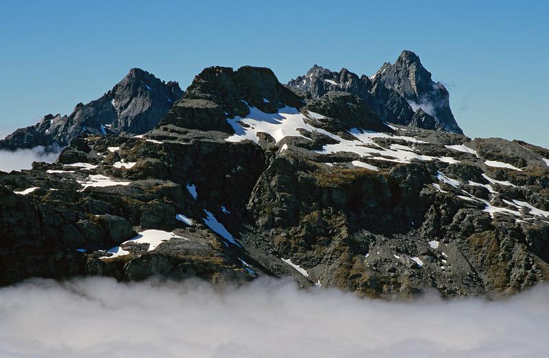 The Cosmos Peaks from Brenda Peak