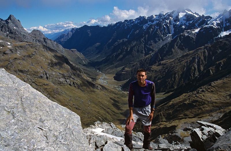 On the summit of Fohn
