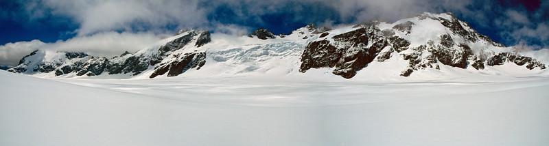 Olivine Ice Plateau panorama