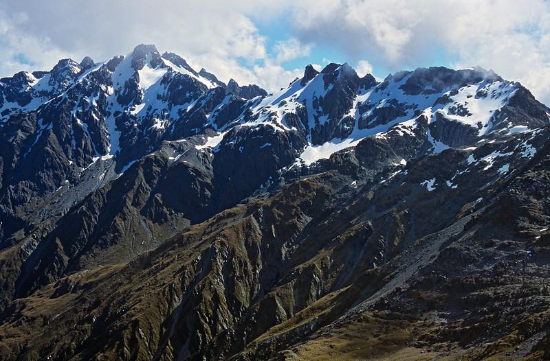 Niobe Peak and Tantalus Peak
