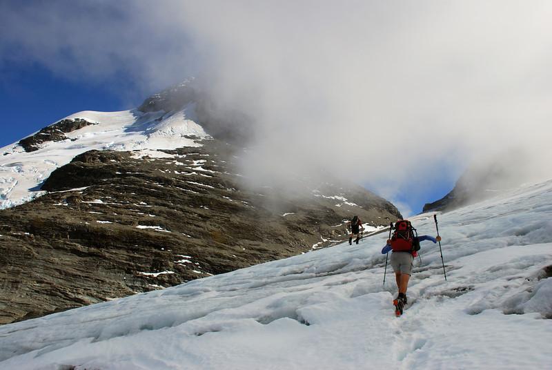 Birley Glacier and Mt Earnslaw