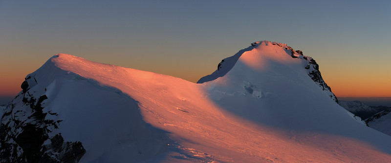 Dawn on Mount French from Quarterdeck Pass