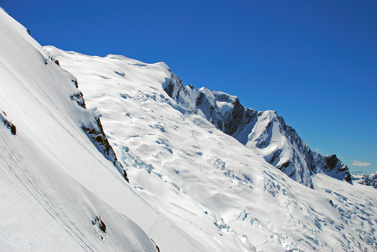 Rob Roy Glacier and Peak.