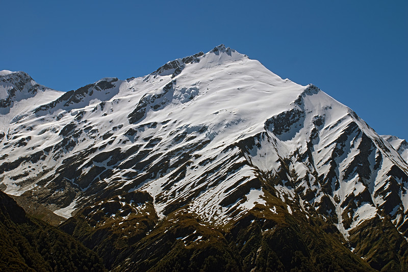 Mount Barff south face