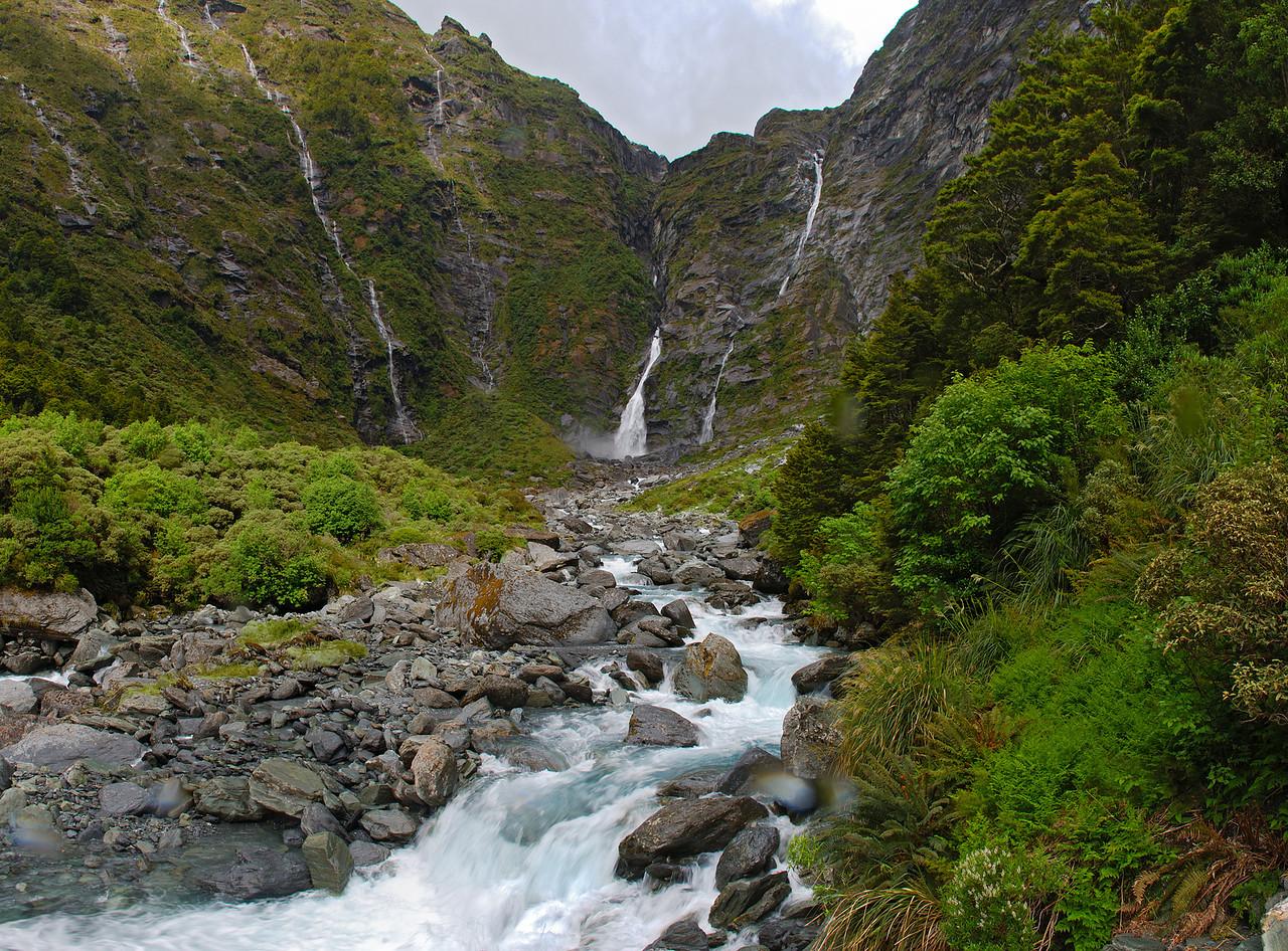 Turnbull Thomson Falls, Kitchener River