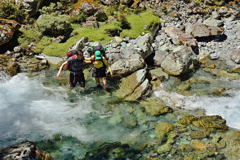 Crossing Kay Creek