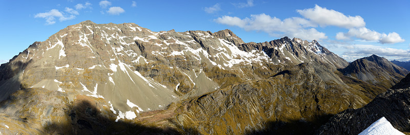 The very long north ridge of Mount Bonpland