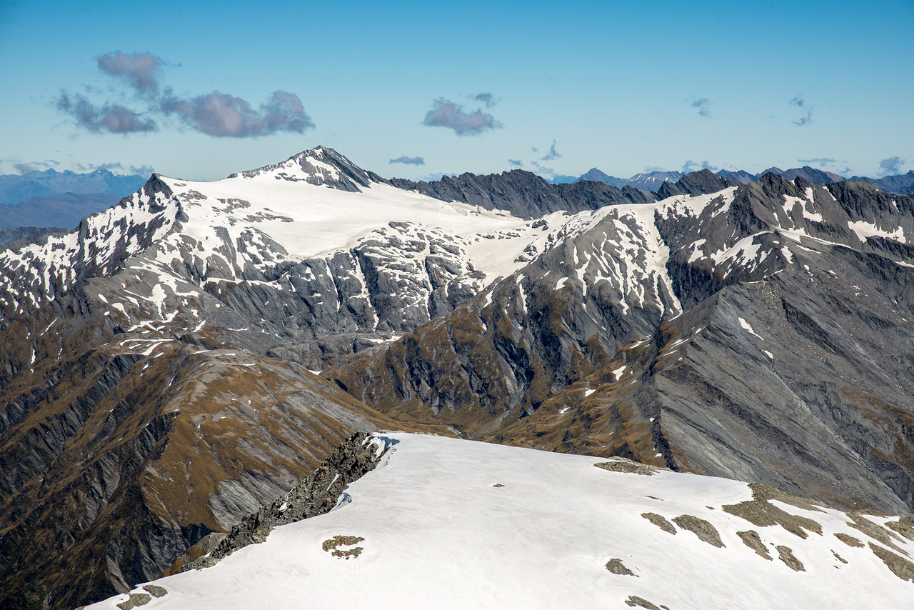 Mt Tyndall and the Isobel Glacier from Governors Ridge