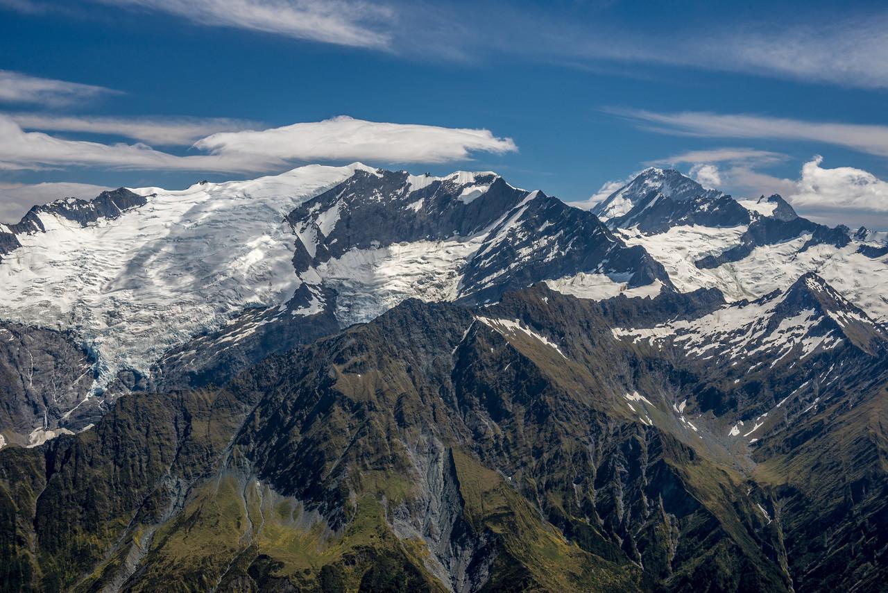 Rob Roy Peak, Mt Aspiring and Homestead Peak