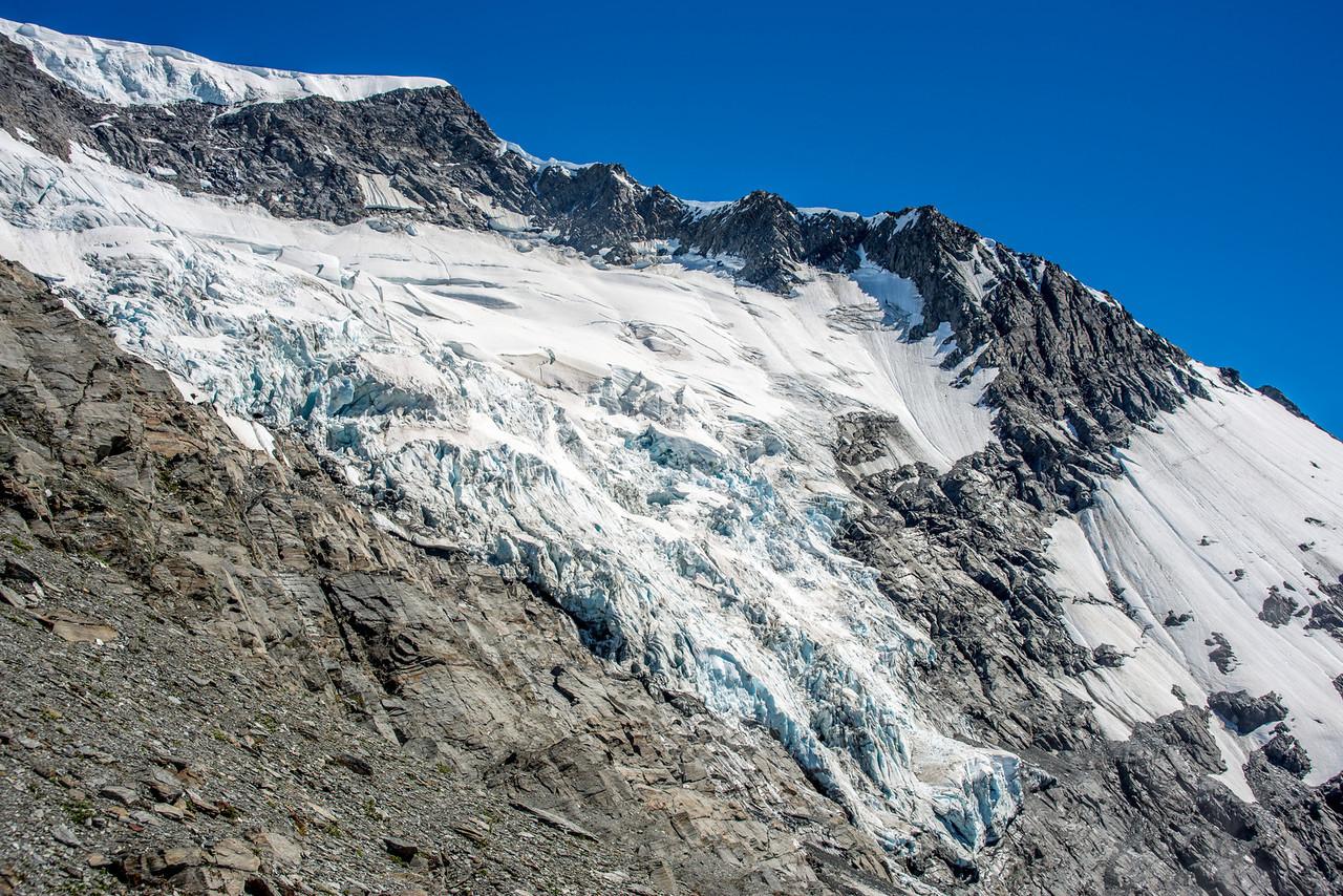 Islington Dome and Christopher Johnston Glacier