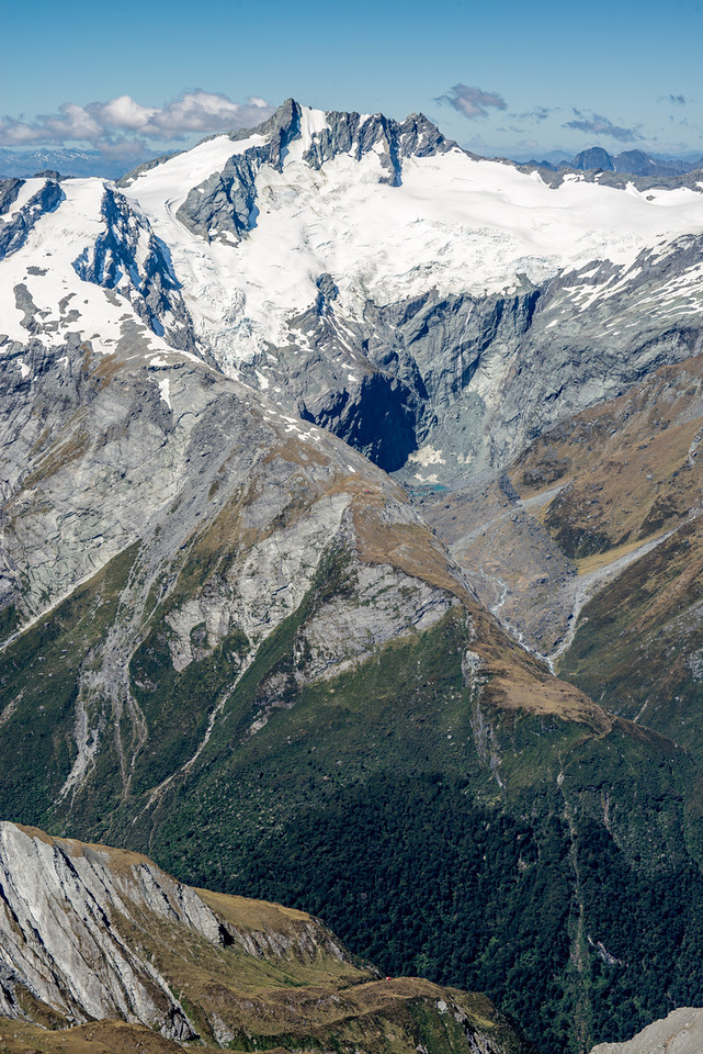French Ridge and Mt Avalanche