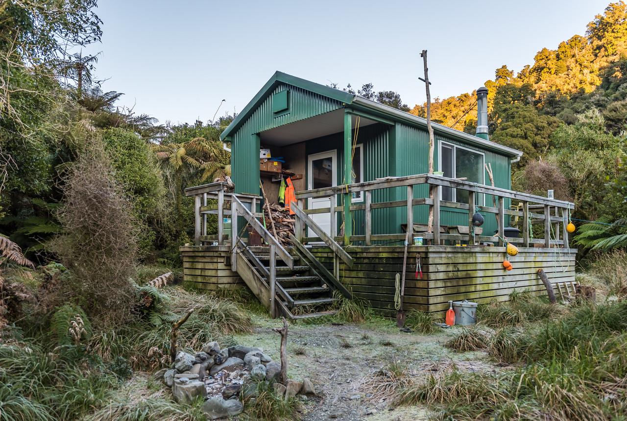 Stafford Hut, Stafford Bay.