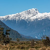 Mt Campbell and Lopside Knob from the Haast Pass Highway.