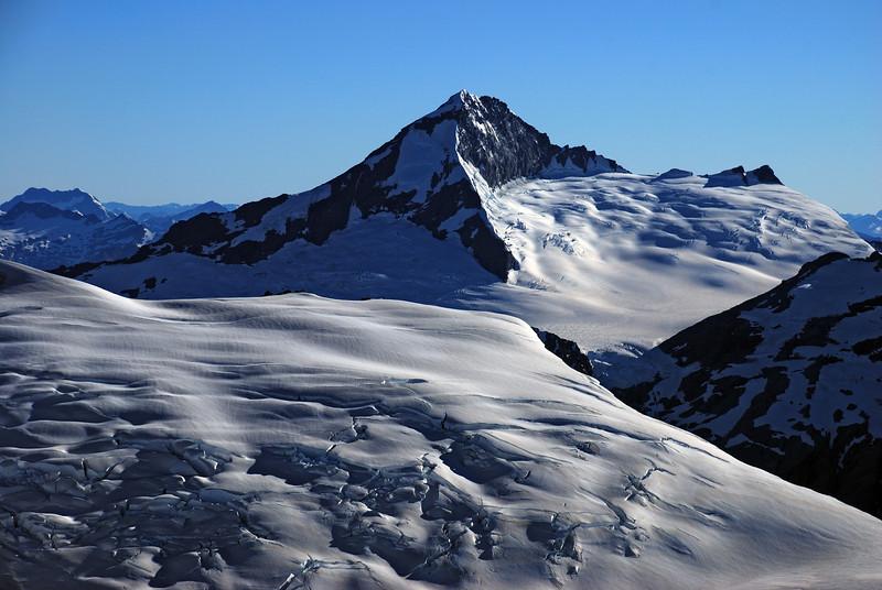 Mt Aspiring from Mt Edward
