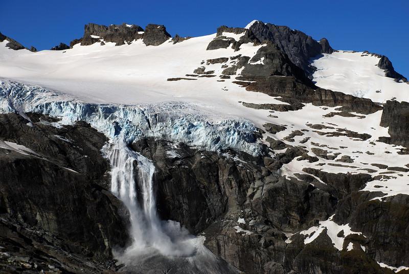 Snowball Glacier avalanche